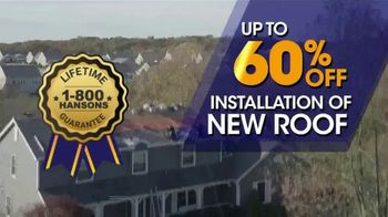 1-800-HANSONS Biggest Roofing Sale of the Year TV Spot, 'Get Your Home Ready Roofing' - Thumbnail 4