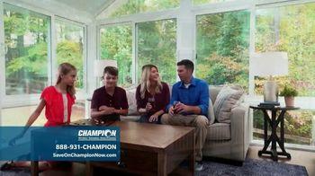 Champion Windows TV Spot, 'Transform Your Home'