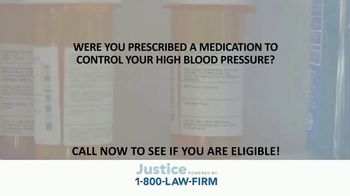 1-800-LAW-FIRM TV Spot, 'Blood Pressure Medication' - Thumbnail 1