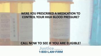 1-800-LAW-FIRM TV Spot, 'Blood Pressure Medication' - Thumbnail 2