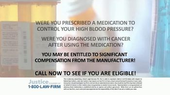 1-800-LAW-FIRM TV Spot, 'Blood Pressure Medication' - Thumbnail 5