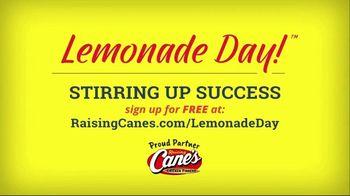 Raising Cane's Lemonade Day TV Spot, 'A Taste of Success' - Thumbnail 7