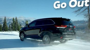 2019 Toyota Highlander TV Spot, 'Go Out and Play' [T2] - Thumbnail 1