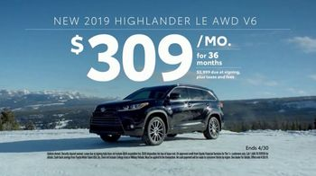 2019 Toyota Highlander TV Spot, 'Go Out and Play' [T2] - Thumbnail 8
