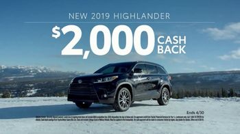 2019 Toyota Highlander TV Spot, 'Go Out and Play' [T2] - Thumbnail 9