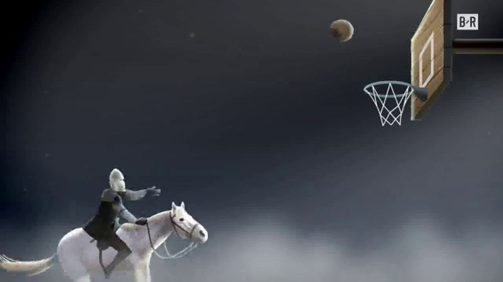 Bleacher Report App TV Commercial, 'Game of Zones: Medieval Things and Basketball'