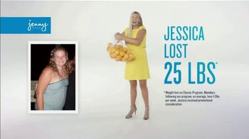 Jenny Craig Rapid Results TV Spot, 'Jessica: $100 Free Food' - Thumbnail 1