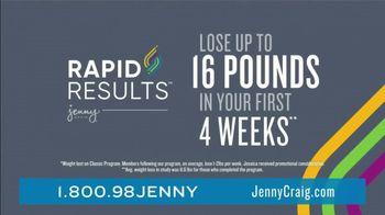 Jenny Craig Rapid Results TV Spot, 'Jessica: $100 Free Food' - Thumbnail 4