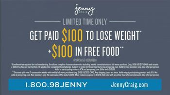 Jenny Craig Rapid Results TV Spot, 'Jessica: $100 Free Food' - Thumbnail 6