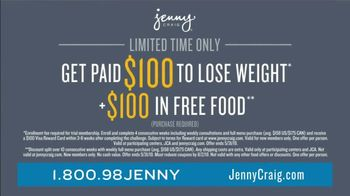 Jenny Craig Rapid Results TV Spot, 'Jessica: $100 Free Food' - Thumbnail 7