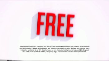 Big O Tires Biggest Sale of the Year TV Spot, 'Two Free Tires' - Thumbnail 2