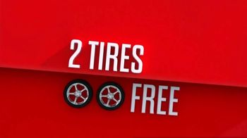 Big O Tires Biggest Sale of the Year TV Spot, 'Two Free Tires'