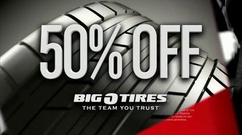 Big O Tires Biggest Sale of the Year TV Spot, 'Two Free Tires' - Thumbnail 4
