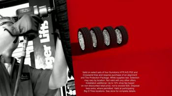 Big O Tires Biggest Sale of the Year TV Spot, 'Two Free Tires' - Thumbnail 7