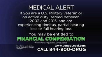 Longo Legal TV Spot, '3M Combat Arms Ear Plugs' - Thumbnail 2