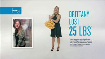 Jenny Craig Rapid Results TV Spot, 'Brittany: 20 for $20' - Thumbnail 1