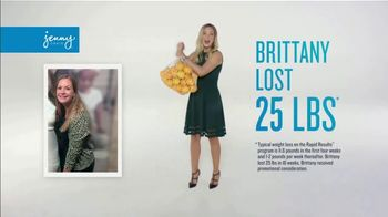 Jenny Craig Rapid Results TV Spot, 'Brittany: 20 for $20' - Thumbnail 2