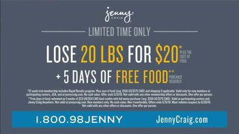 Jenny Craig Rapid Results TV Spot, 'Brittany: 20 for $20' - Thumbnail 5