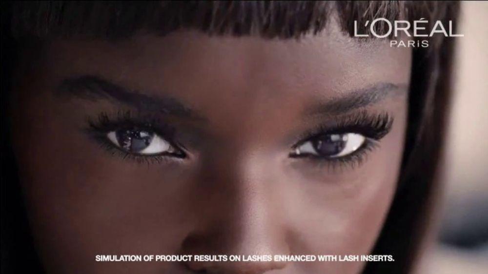 Loreal Mascara Model