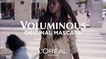 L'Oreal Paris Cosmetics Voluminous Original Mascara TV Spot, 'The Power' - Thumbnail 2