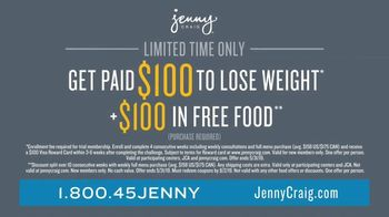Jenny Craig Rapid Results TV Spot, 'Brittany, Jessica and Shiella: $100 for $100' - Thumbnail 9
