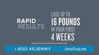 Jenny Craig Rapid Results TV Spot, 'Brittany, Jessica and Shiella: $100 for $100' - Thumbnail 3