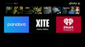 XFINITY X1 TV Spot, 'The Ultimate Music Destination' Song by Panic! At the Disco - Thumbnail 10