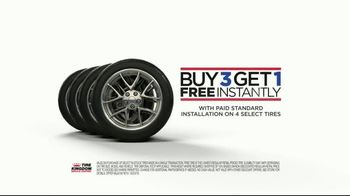 Tire Kingdom TV Spot, 'Standard Installation Package: Buy Three Tires, Get One' - Thumbnail 7