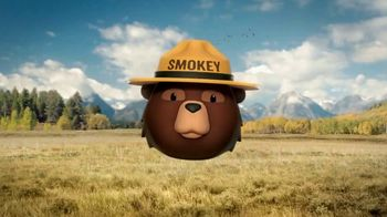 Smokey Bear Campaign TV Spot, 'Stephen Colbert: Smokey Bear's 75th Birthday' - Thumbnail 1