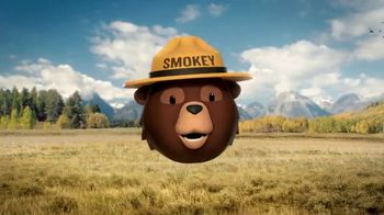 Smokey Bear Campaign TV Spot, 'Stephen Colbert: Smokey Bear's 75th Birthday' - Thumbnail 4