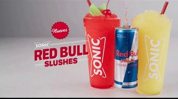 Sonic Drive-In Red Bull Slushes TV Spot, 'Sabe a viernes' [Spanish]