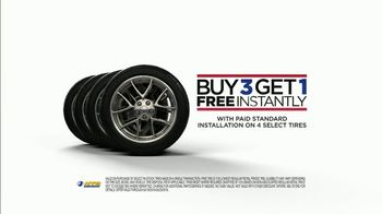 National Tire & Battery TV Spot, 'Going Bald: Buy Three, Get One Free: Oil Change' - Thumbnail 6