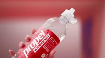Propel Vitamin Boost TV Spot, 'Electrolytes Meet Vitamins'