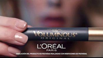 L'Oreal Paris Voluminous Original Mascara TV Spot, 'El poder' canción de Neneh Cherry [Spanish] - Thumbnail 4