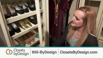 Closets by Design TV Spot, 'Clutter to Calm' - Thumbnail 2