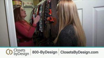 Closets by Design TV Spot, 'Clutter to Calm' - Thumbnail 3