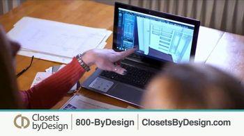 Closets by Design TV Spot, 'Clutter to Calm' - Thumbnail 4