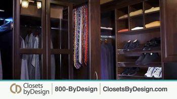 Closets by Design TV Spot, 'Clutter to Calm' - Thumbnail 5