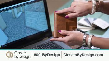 Closets by Design TV Spot, 'Clutter to Calm' - Thumbnail 6
