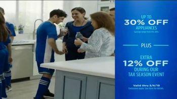 Sears Tax Season Event TV Spot, 'Spring 2019: Enjoy Special Tax Season Savings' - Thumbnail 9