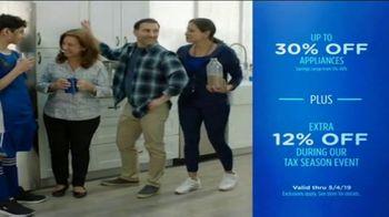 Sears Tax Season Event TV Spot, 'Spring 2019: Enjoy Special Tax Season Savings' - Thumbnail 8