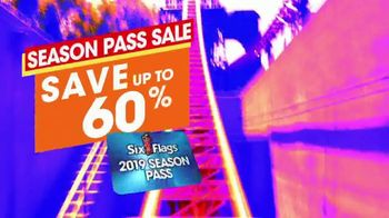 Six Flags Season Pass Sale TV Spot, 'Spring Break: 60 Percent' - Thumbnail 6
