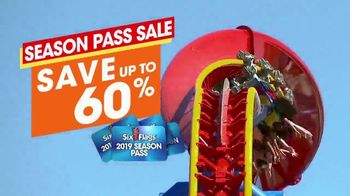 Six Flags Season Pass Sale TV Spot, 'Spring Break: 60 Percent' - Thumbnail 7