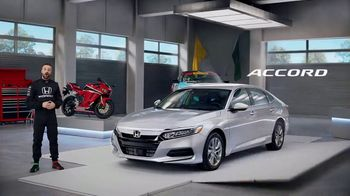 Honda Dream Garage Spring Event TV Spot, 'Accord' Featuring James Hinchcliffe [T2] - 105 commercial airings