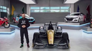 Honda Dream Garage Spring Event TV Spot, 'Accord' Featuring James Hinchcliffe [T2] - Thumbnail 2