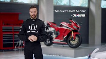 Honda Dream Garage Spring Event TV Spot, 'Accord' Featuring James Hinchcliffe [T2] - Thumbnail 4