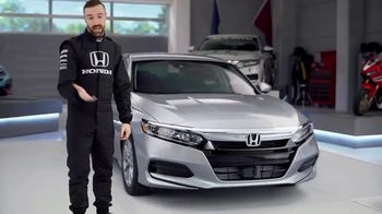 Honda Dream Garage Spring Event TV Spot, 'Accord' Featuring James Hinchcliffe [T2] - Thumbnail 5