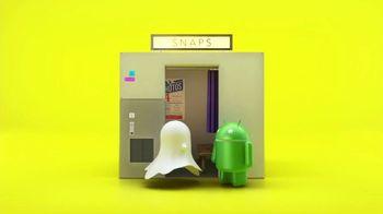 Snapchat TV Spot, 'To Android, Love Snapchat: Happy Snapping!' - Thumbnail 1