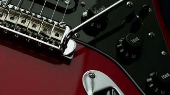 Guitar Center Guitar-A-Thon TV Spot, 'Fender Player Strat and Squier Bullet Mustang' - Thumbnail 1
