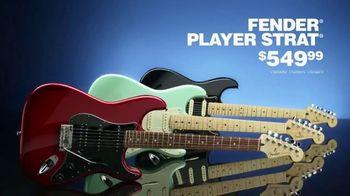 Guitar Center Guitar-A-Thon TV Spot, 'Fender Player Strat and Squier Bullet Mustang' - Thumbnail 5